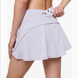 "Lululemon Play Off The Pleats Skirt *13"" - lilac"